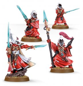 Eldar Farseer and Warlocks