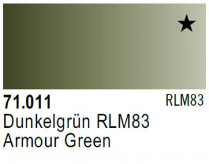 Vallejo Model Air: 71.011 Armour Green 17ml