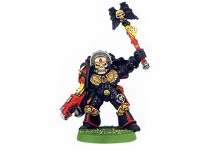 Blood Angels Chaplain (Rare, OOP)