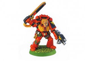 Blood Angels Veteran Sergeant 1 (Rare, OOP)