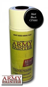 Army Painter Spray: Matt Black Undercoat 400ml