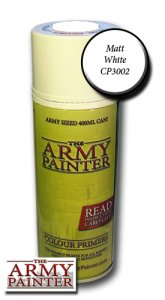 Army Painter Spray: Matt White Undercoat 400ml