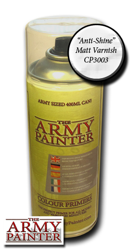 Army Painter Spray: Anti Shine Matt Varnish 400ml ― HobbyWorld