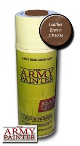 Army Painter Spray: Leather Brown 400ml