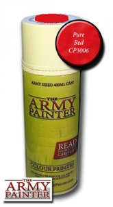 Army Painter Spray: Pure Red 400ml