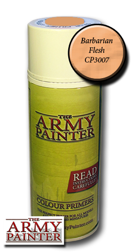 Army Painter Spray: Barbarian Flesh 400ml ― HobbyWorld