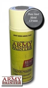 Army Painter Spray: Plate Mail Metal 400ml