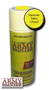 Army Painter Spray: Daemonic Yellow 400ml
