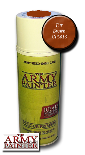 Army Painter Spray: Fur Brown 400ml ― HobbyWorld