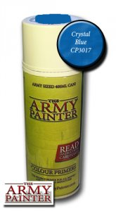 Army Painter Spray: Crystal Blue 400ml