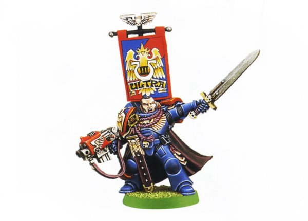 Space Marine Captain (Rare, OOP) ― HobbyWorld