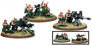 Imperial Guard Catachan Heavy Weapons Team