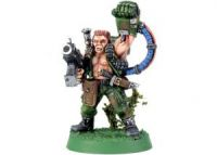 Imperial Guard Catachan Jungle Fighter Captain (Collectors)