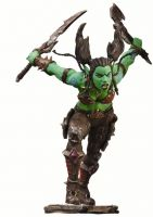 DC Unlimited: World of Warcraft: Series 7: ORC ROGUE: GARONA Action Figure