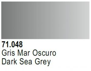 Vallejo Model Air: 71.048 Dark Sea Grey 17ml