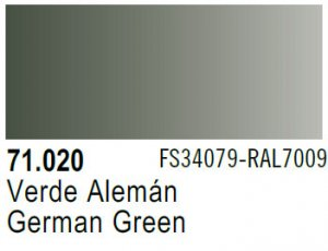 Vallejo Model Air: 71.020 German Green 17ml