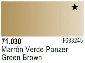 Vallejo Model Air: 71.030 Green Brown 17ml