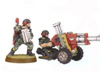 Imperial Guard Classic Cadian Auto Cannon Team (Rare, OOP)