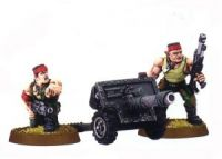 Imperial Guard Classic Catachan Lascannon Team (Rare, OOP)