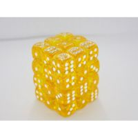 Transulent Yellow/White 36x12mm D6