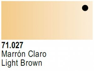 Vallejo Model Air: 71.027 Light Brown 17ml