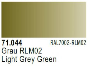 Vallejo Model Air: 71.044 Light Grey Green 17ml