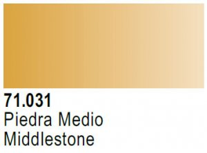 Vallejo Model Air: 71.031 Middlestone 17ml
