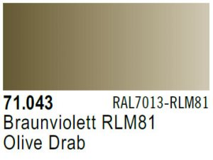 Vallejo Model Air: 71.043 Olive Drab 17ml