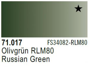 Vallejo Model Air: 71.017 Russian Green 17ml