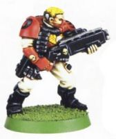 Space Marine Scout With Shotgun 2 (Rare, OOP)