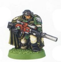 Space Marine Scout Sniper 1 (Rare, OOP)