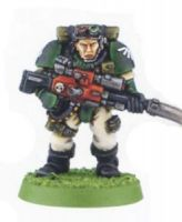 Space Marine Scout Sniper 2 (Rare, OOP)