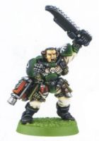 Space Marine Scout Sergeant (Rare, OOP)