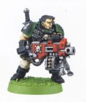 Space Marine Scout With Heawy Bolter (Rare, OOP)