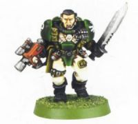 Space Marine Scout 1 (Rare, OOP)