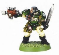 Space Marine Scout 4 (Rare, OOP)
