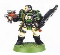 Space Marine Scout 5 (Rare, OOP)