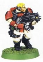 Space Marine Scout With Boltgun 2 (Rare, OOP)