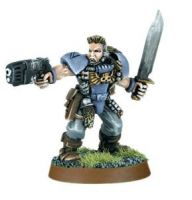 Space Wolves Scout with Plasma Pistol 1 (Rare, OOP)