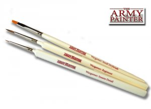 Army Painter: Wargamer Most Wanted Brush Set