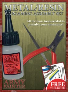 Army Painter: Metal/Resin assembly set