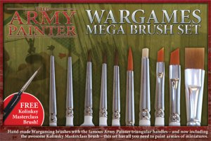 Army Painter: Mega Brush Set