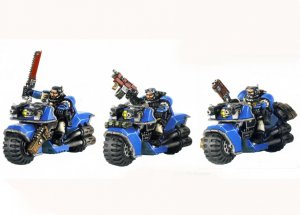 Space Marine Scout Bike Squad (Collectors)