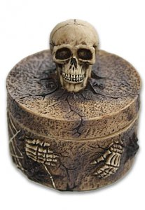 Dice Box: Skull Trinket Box