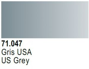 Vallejo Model Air: 71.047 Gris USA US Grey 17ml