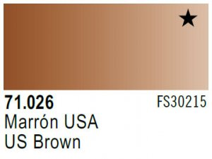 Vallejo Model Air: 71.026 US Brown 17ml