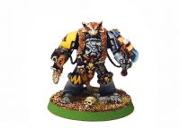 Wolf Guard Terminator bodyguard with Wolf tail talisman (Rare, OOP)