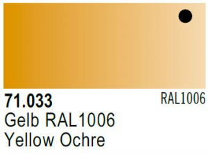 Vallejo Model Air: 71.033 Yellow Ochre 17ml