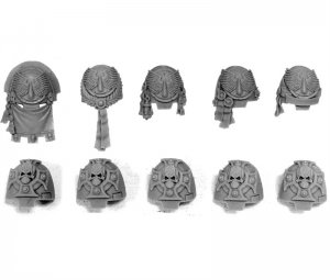 BLOOD ANGELS TERMINATOR SHOULDER PADS