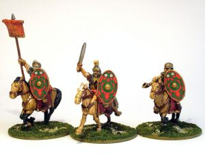 Imperial Roman Aux Cavaly Command (3) ― HobbyWorld